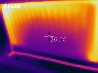 Before your system flush much of radiator cold